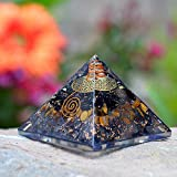 Orgonite Crystal Triple Protection Orgone Pyramid