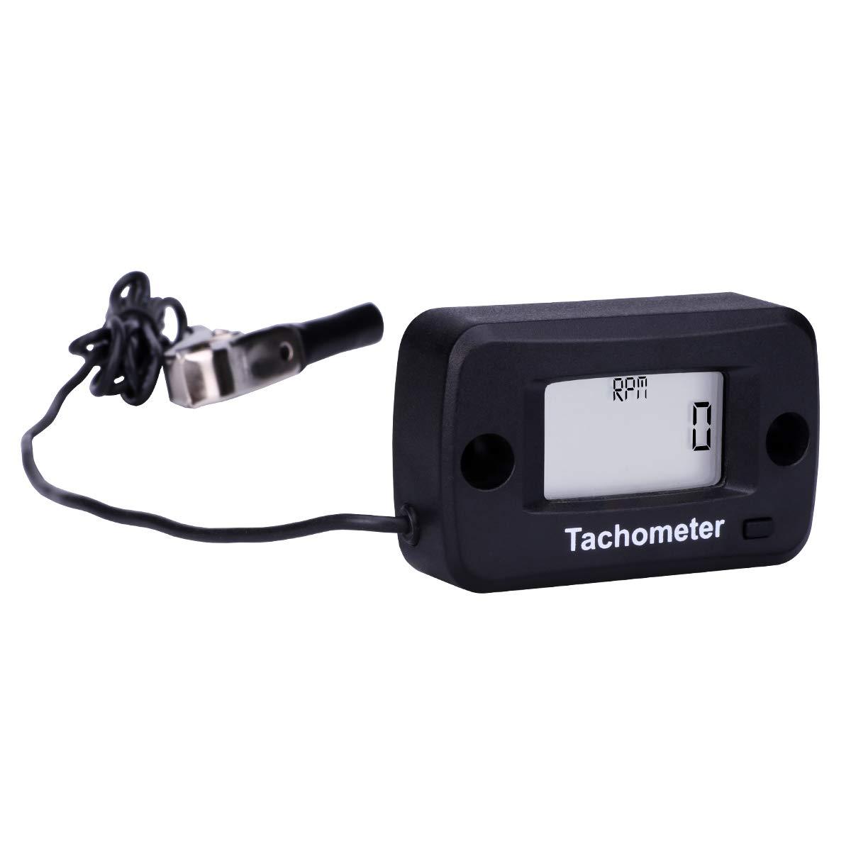 Amazon.com: AIMILAR - Tacómetro digital para cadena de motor ...