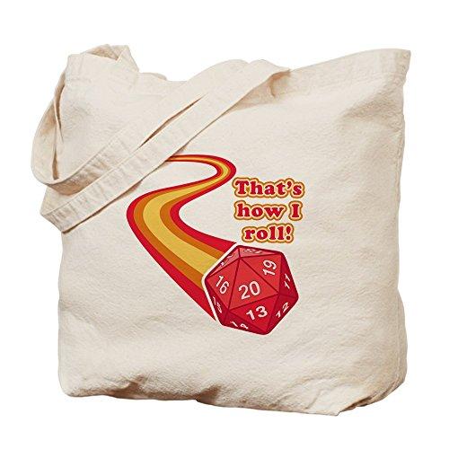 CafePress–That 'S cómo I Roll–Gamuza de bolsa de lona bolsa, bolsa de la compra