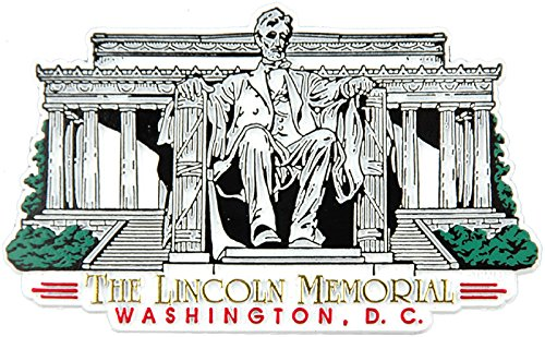 The Lincoln Memorial Washington D.C. Fridge Magnet