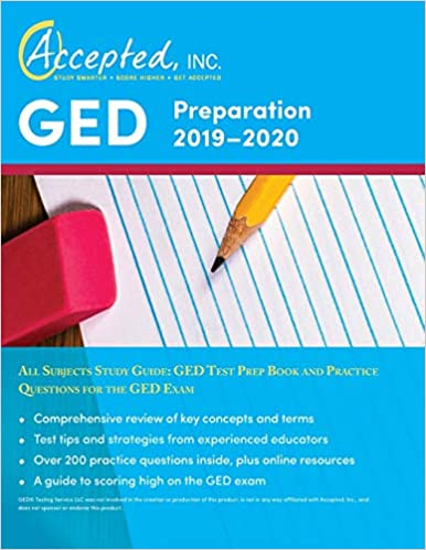 GED Preparation 2019-2020 All Subjects Study Guide: GED Test
