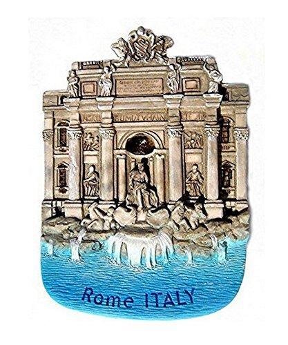 - Trevi Fountain Rome Italy Souvenir Fridge Magnet Toy Set 3D Resin Collection