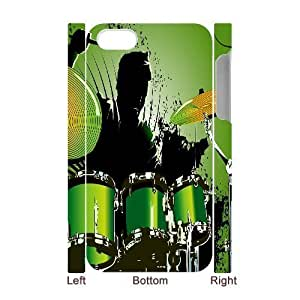 C-Y-F-CASE DIY Design Musical Instruments Pattern Phone Case For Iphone 4/4s