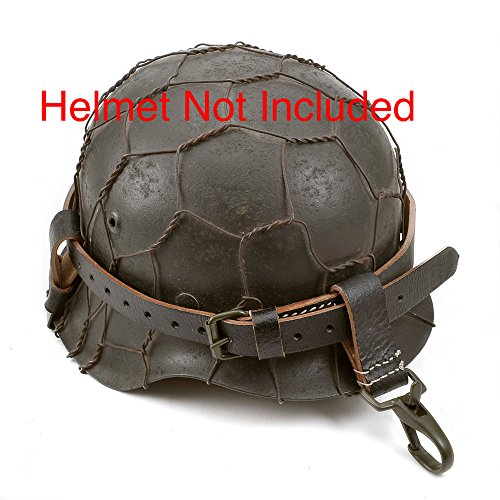 World War Supply German WW2 Black Leather Helmet Carry for sale  Delivered anywhere in USA