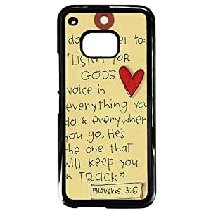 Bible Verses About Love Phone Case for HTC M9