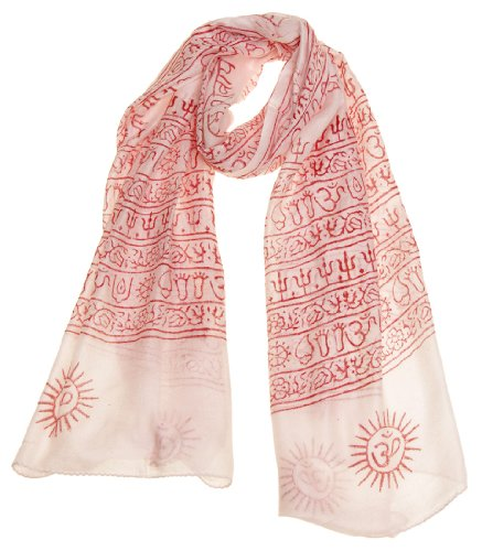 Womens Printed Prayer Meditation Scarf product image