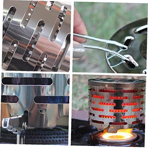 Camping Cap de chauffage portable pour Butane Brûleur à gaz Pêche