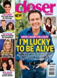 David Cassidy (The Partridge Family), Mick Jagger and L'Wren Scott, Heidi Klum, The Duggars, Halle Berry - April 7, 2014 Closer Magazine