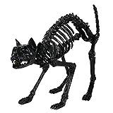 Crazy Bonez Black Skeleton Cat
