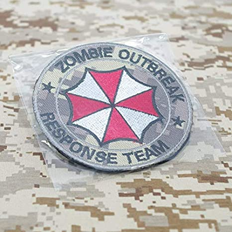 camo Cobra Tactical Solutions Camo Patch Resident Evil Zombie Outbreak Response Team con Velcro