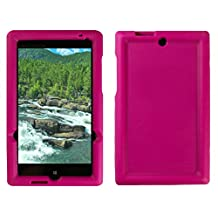 Bobj Rugged Case for HP Stream 7 - BobjGear Protective Tablet Cover (Rockin' Raspberry)