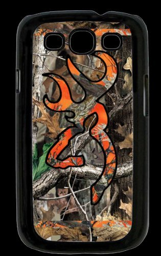 Price comparison product image Ships From U S A Country Orange and Camo Buck Samsung Galaxy S3 S Iii Snap-on Case