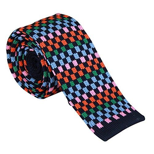 Cravate t1030 Slim 5cm Amurleopard Homme Fashion Rayure Maille Ld En Tricot vB0EwqB