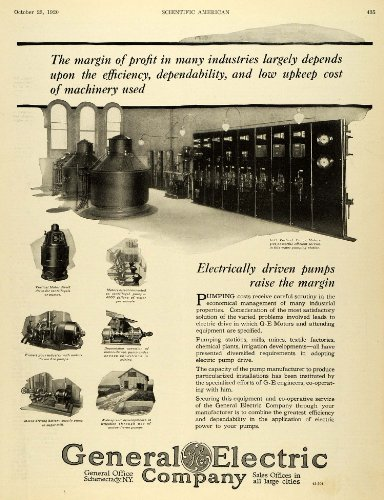 1920-ad-general-electric-pump-motor-schenectady-engineering-pumping-station-original-print-ad