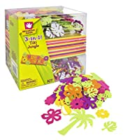 Fiber Craft 3-in-1 Foam Kit, Tiki Jungle