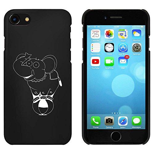 Noir 'Éléphant de Cirque' étui / housse pour iPhone 7 (MC00056027)