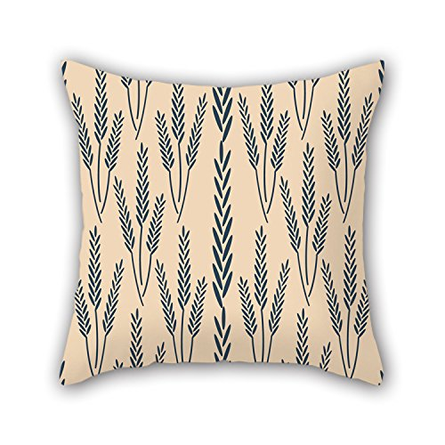 NICEPLW Leaf Pillow Covers 16 X 16 Inches / 40 By 40 Cm Best Choice For Family,deck Chair,girls,wedding,floor,bedroom With Twice - Pastel Smoke Copper