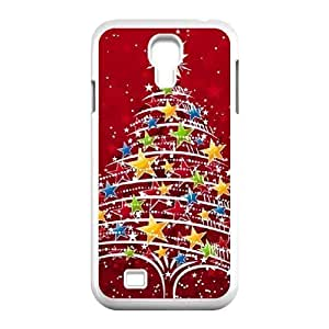 Christmas tree Unique Design Cover Case with Hard Shell Protection for SamSung Galaxy S4 I9500 Case lxa#888301