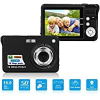 HD Mini Digital Camera with 2.7 Inch TFT LCD Display,...