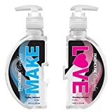 Penthouse Couples Warming & Tingling Personal Intimate Lubricant Water-Based, 10 fl.oz. (2 Bottles), Heat for Men Tingle for Women, No Stain Easy to Clean, Discreet Package, Ship Lightning Fast