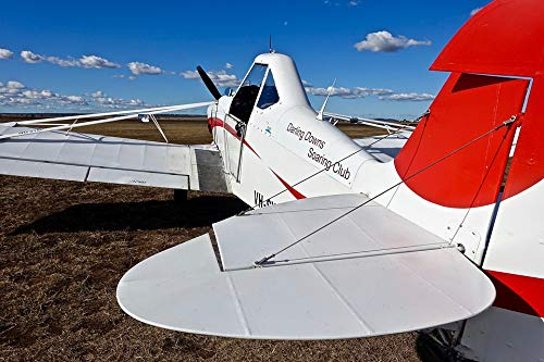 Home Comforts Peel-n-Stick Poster of Tail Aviation Wings Aero Aeroplane Aircraft Vivid Imagery Poster 24 x 16 Adhesive Sticker Poster Print