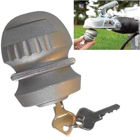 HEAVY DUTY STEERING WHEEL HAND BRAKE CARAVAN CAR VAN COUPLING SECURITY LOCKS NEW INSCRUTABLE HITCH LOCK