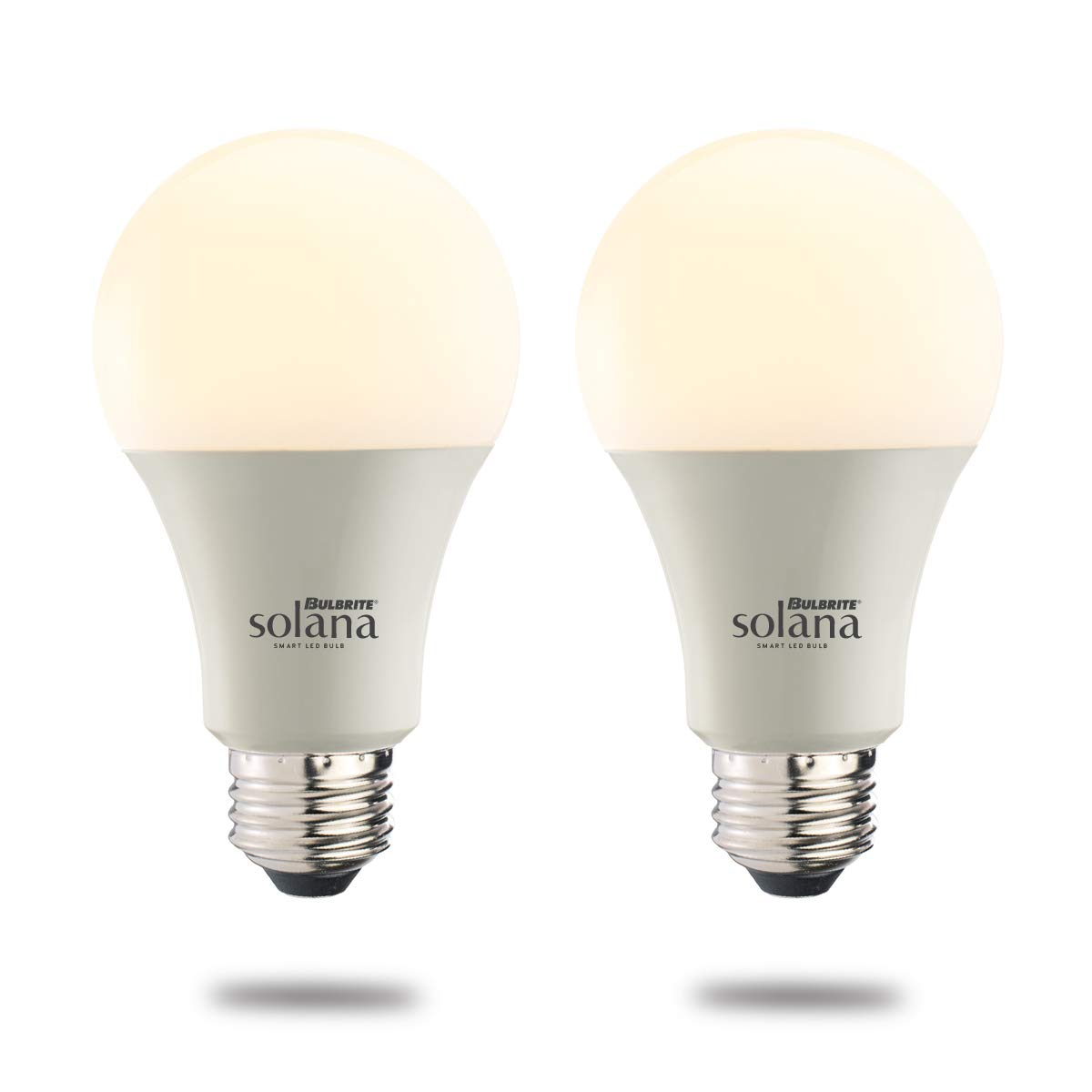 60 Watt Equivalent Frost Bulbrite Solana A19 WiFi Connectd LED Smart Light Bulb