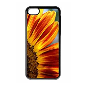 {Sunflower Series} IPhone 5C Cases Sunflower 6, Case Stevebrown5v - Black