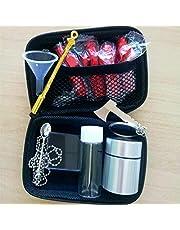 Vier kleuren draagbare Snuff Snorter Kit met tas