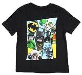 IML Lego Batman Movie Boy's Character Panel T-Shirt Joker Riddler Robin 7