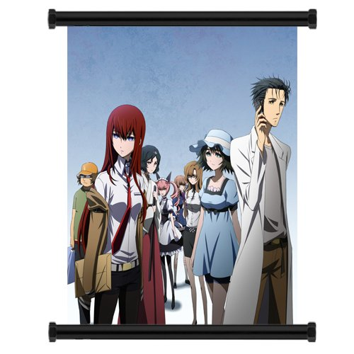 Steins; Gate Anime Fabric Wall Scroll Poster  Inches. -- Ste