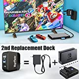 Switch Dock Charger Adapter for Nintendo