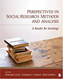 img - for Perspectives in Social Research Methods and Analysis: A Reader for Sociology book / textbook / text book