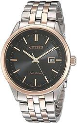 Citizen Men's BM7256-50E Contemporary Eco-Drive Two-Tone Stainless Steel Bracelet Watch
