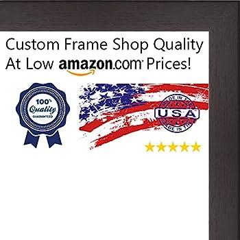 Amazon.com - ArtToFrames 10x18 inch Classic Mahogany Frame Picture ...