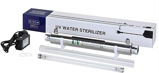 GRASSAIR 55W Ultra Violeta Agua Desinfección Filtración Sistema ...