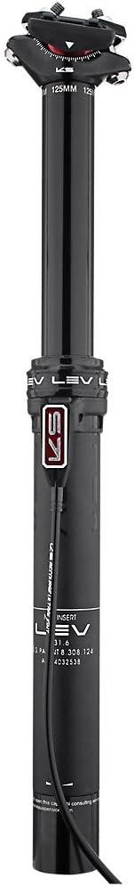 ALL NEW Kind Shock KS LEV Height Adj Seatpost 30.9 385//125mm Remote
