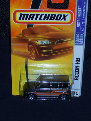 Matchbox 2008 Metro Rides Series #6 of 7 Collector #31 Scion XB Dark Gray