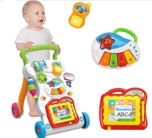 Life-Tandy Sit-to-Stand Learning Walker With Music Tablet and The Phone by Life-Tandy   B01EI3RBGA