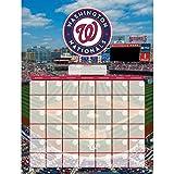 Washington Nationals Jumbo Dry Erase Sports Calendar