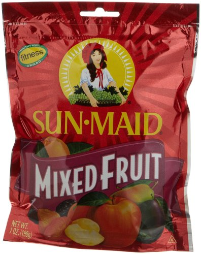 Sun Maid Mixed Fruit, 7-Ounce Pouches (Pack of 6) by Sun Maid (Image #1)