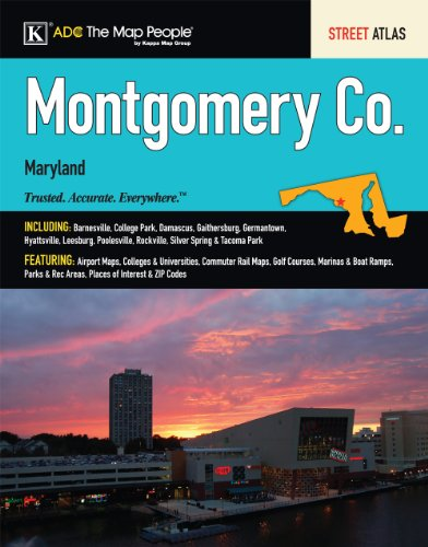 Montgomery County MD Atlas (Montgomery County (MD) Street Map Book)