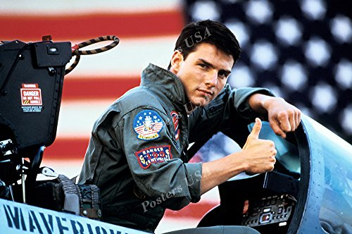 (Posters USA - Tom Cruise Top Gun Movie Poster GLOSSY FINISH - FIL176 (24