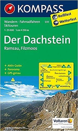 Dachstein Karte.Der Dachstein Ramsau Filzmoos Wanderkarte Mit Aktiv Guide
