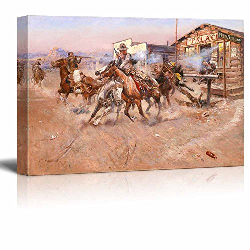 Professional Guaranteed House Painting Western Springs: Smoke By Charles Marion Russell Print Famous Painting