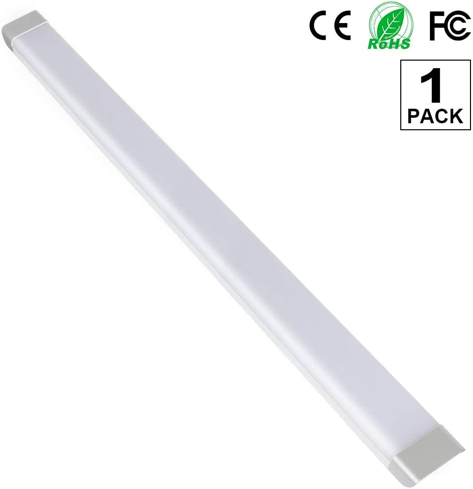 4x 4FT 120cm LED Batten Tube Light Daylight For Garage Workshop Ceiling Panel UK