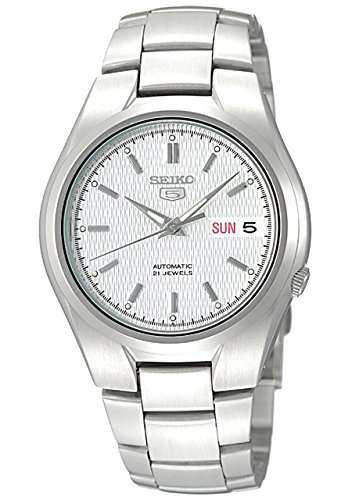 Seiko-Mens-SNK601-Seiko-5-Automatic-Silver-Dial-Stainless-Steel-Bracelet-Watch
