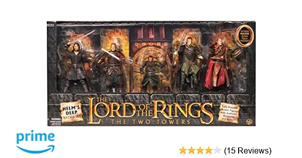 c389d2ac4 Lord of the Rings Two Towers Heroes of Helms Deep Action Figure 5Pack  Includes Haldir