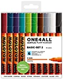 Molotow One4All 127 HS 10er Basic Set 2 10 Marker Paint Lack acryl 127HS Kit box
