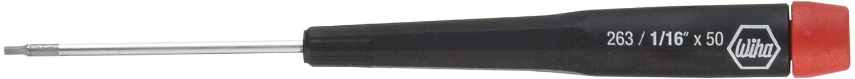 Wiha 96316 Precision Hex Inch Screwdriver, 1/16 x 50mm